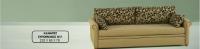 Καναπές συρόμενος Ν11 (220x88x78) κομπλέ με στρώματα