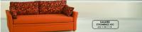 Καναπές συρόμενος Ν10 (222x89x78) κομπλέ με στρώματα