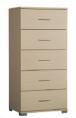 Συρταριέρα με 5 συρτάρια βαθιά (127x60x45).